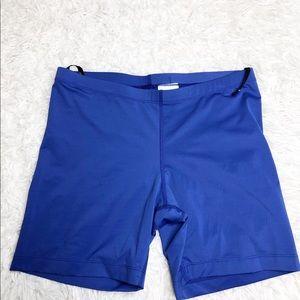 Nike- Tour Performance Gold Spandex Shorts Size L